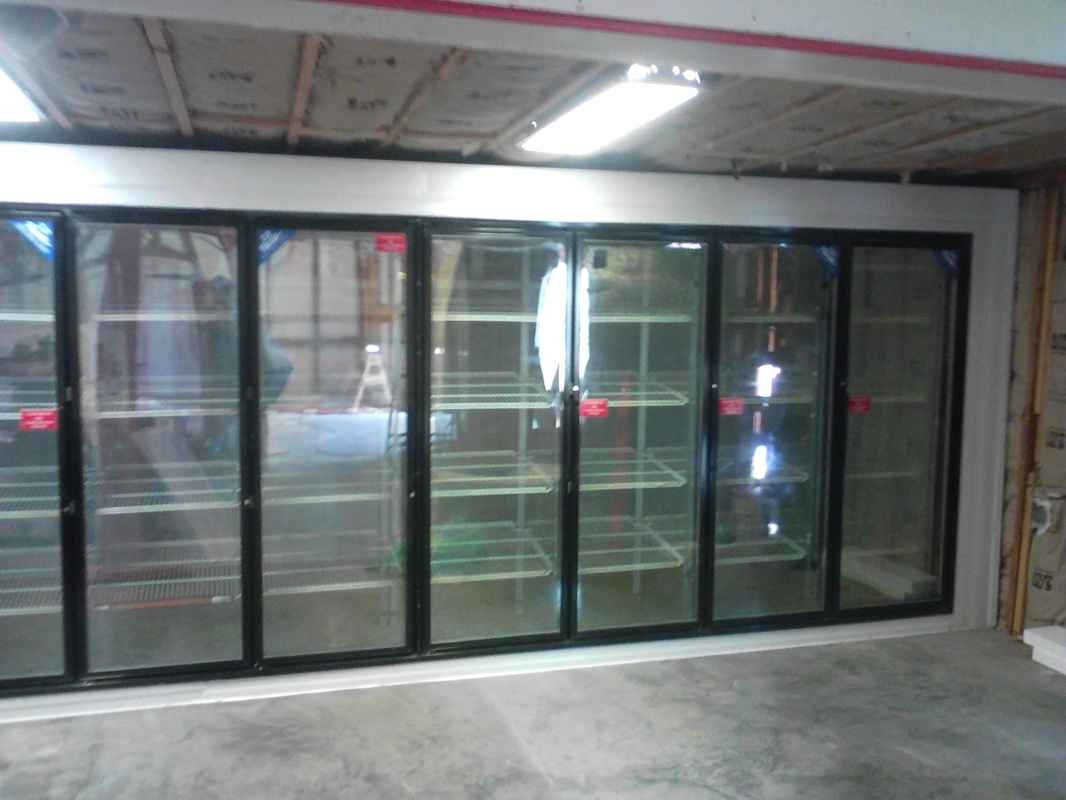 10 door cooler true gdm 10 hc ld glass door merchandiser for 10 door walk in cooler